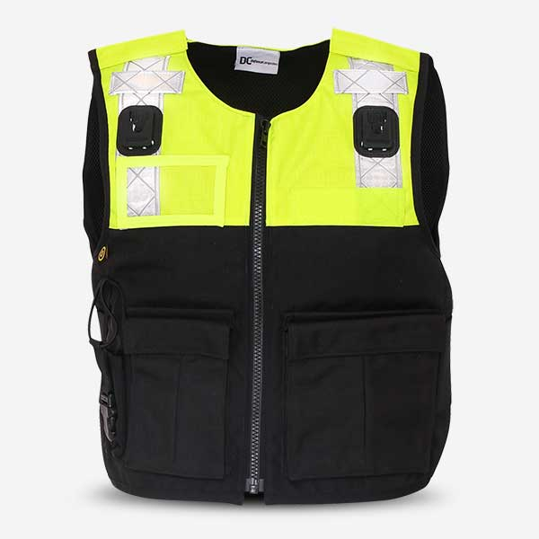 Stab Resistant Vest Bespoke Overt with Radio Pocket