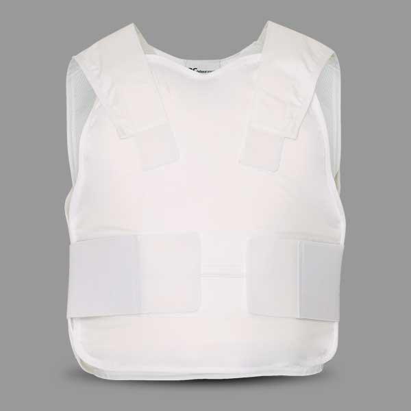 Stab Resistant Vest Covert White