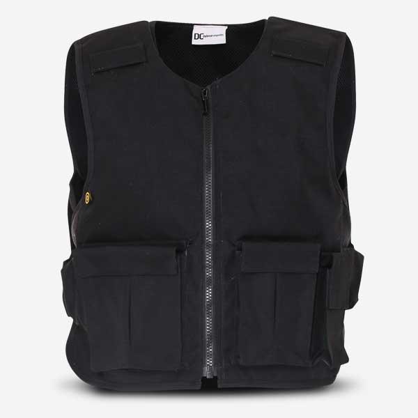 Stab Resistant Vest Overt Black