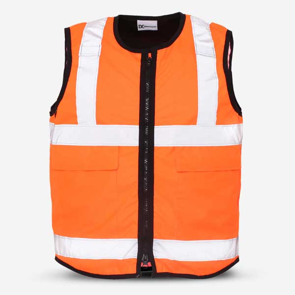 Stab Resistant Vest Tabard Orange