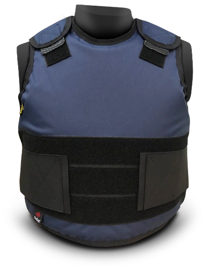 DC CV Concealable Bullet Resistant Vest navy