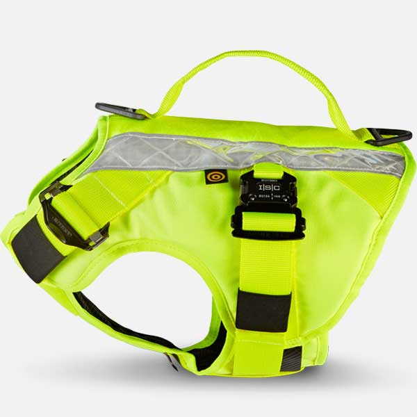 Tornado Hi-Viz Canine Body Armour Harness