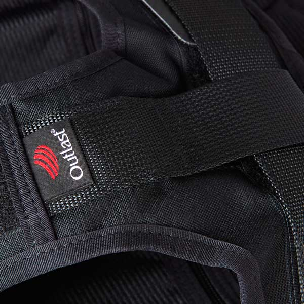 Webbing strap with Outlast pip-canine body armour harness