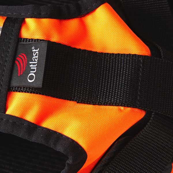 Webbing strap with Outlast pip