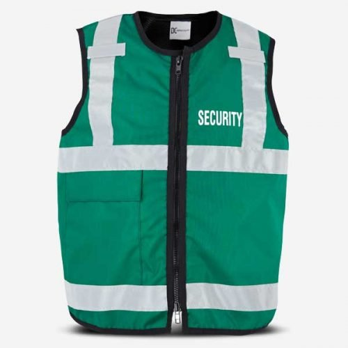 DC Tabard Stab Vest Green Security
